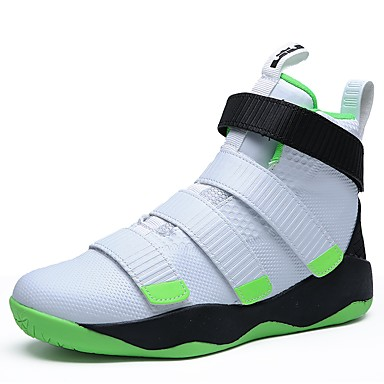 c82f607b8fe5 Муж. Комфортная обувь Полиуретан Осень   Зима Спортивная обувь Для  баскетбола Черный   Красный