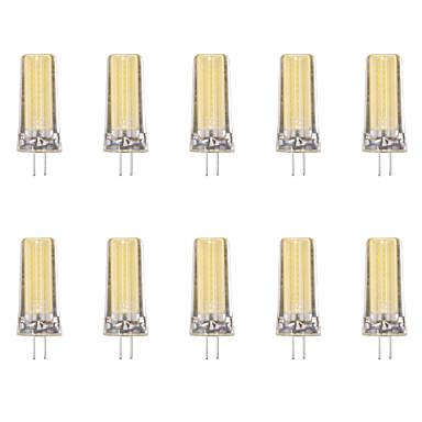 10pcs 4W 80 lm G4 Żarówki LED bi-pin 1 Diody lED COB Ciepła biel Zimna biel AC 220-240V