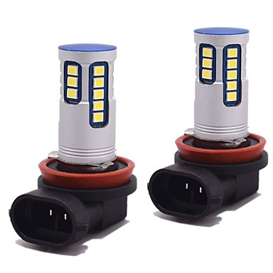 2 Light Bulbs 24W W SMD 3528 2400lm lm 24 Fog Light Foruniversal All Models All years