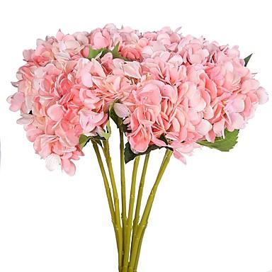 Művirágok 2 Ág Rusztikus Stílus Hortenzia Asztali virág
