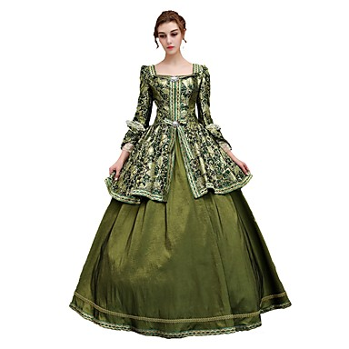 Rococo Lace Up Victorian Costume Womens Dress Party Costume