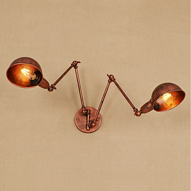 Vintage / Country / Retro Swing Arm Lights Metal Wall Light 110-120V / 220-240V