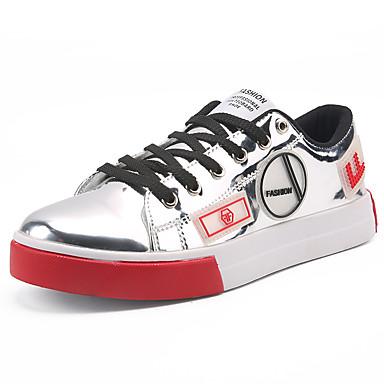 Men's Glitter Spring / Fall Comfort Sneakers Gold / Black / Silver