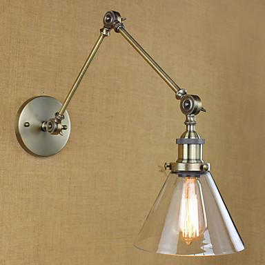 Tiffany / Rusztikus / Antik Fém falikar 110-120 V / 220-240 V 40 W / E26 / E27
