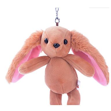 Key Chain Rabbit Cotton Unisex Kid's Gift