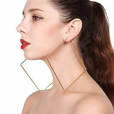 Női Mértani Függők Francia kapcsos fülbevalók - Túlméretezett Arany / Ezüst Kompatibilitás Parti Utca