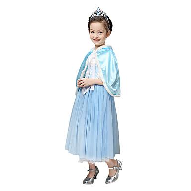 Prinsesse Eventyr Elsa Cosplay Kostumer Party-kostyme Barne Jul Halloween Karneval Nytt År Barnas Dag Festival / høytid Halloween-kostymer