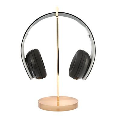 universell hörlursstativ akrylbashörn hörlurar professionell display rack  headset hängare fäste guld för gamer utställning center butik b8b9f57de39d4
