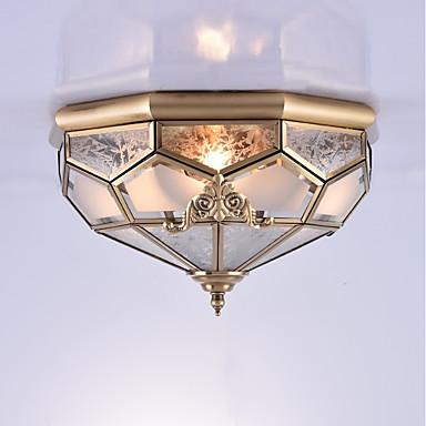 3-Light Mennyezeti lámpa Háttérfény - Mini stílus, 110-120 V / 220-240 V Az izzó nem tartozék / 15-20 ㎡ / E26 / E27