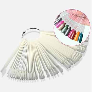 voordelige Nagelgereedschap & Apparatuur-50st Nail Art Tool Voor Vingernagel Multi-ontwerp Nagel kunst Manicure pedicure Normale / Eenvoudig / Klassiek Dagelijks