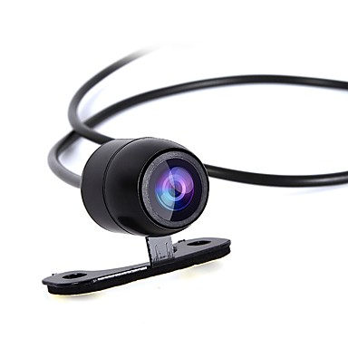 ZIQIAO Universal HD Rear View CCD Rear View Camera Car 170 Wide Angle Vehicle Back-up Backup Version for Parking in Support Reverse