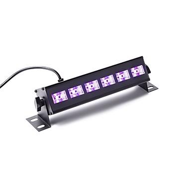 U'King Oświetlenie LED sceniczne DMX 512 Master-Slave Aktywowana Dźwiękiem Pilot zdalnego sterowania na Klub Impreza Obuwie turystyczne