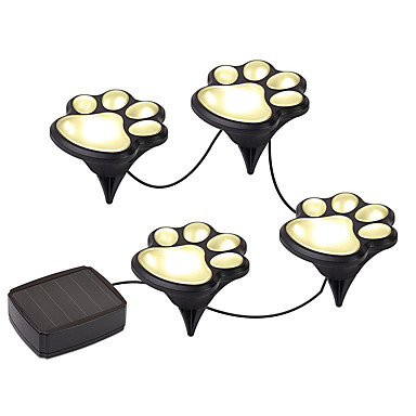 YWXLIGHT® 1pc Warm White Cold White Solar Powered High Quality DC5 Decoration Garden Lights