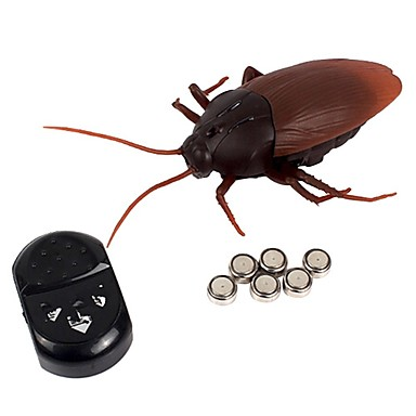 Remote Control RC Building Block Kit Electronic Pets Cockroach Toy Remote Control / RC Strange Toys Electric New Design Kid's Adults' Gift