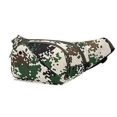 2 L Fanny Pack / Hiking Waist Bag - Wearable Outdoor Hunting, Fishing, Hiking Cloth Army Green, Green, Forest Green