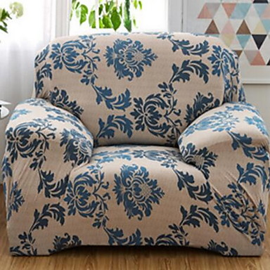 billige Overtrekk-Klassisk Polyester Sofatrekk Blomstret slipcovere