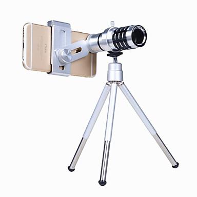 Mobiltelefon Lens Teleobjektív Üveg 12X makró iPad / Xiaomi / Huawei