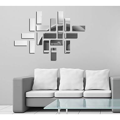 Dekoratív falmatricák - Tükör falimatrica Absztrakt / Divat / Alakzatok Nappali szoba / Étkező / Dolgozószoba / Iroda