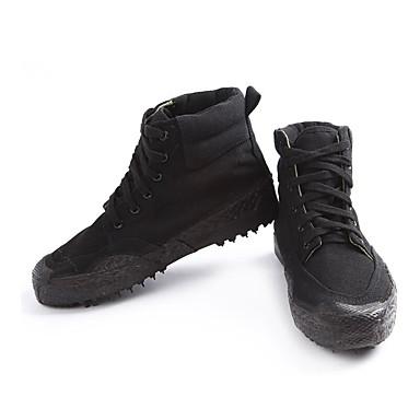 le printemps et l'automne, les bottes de de de la toile vert / noir / armée de confort vert 5bc711