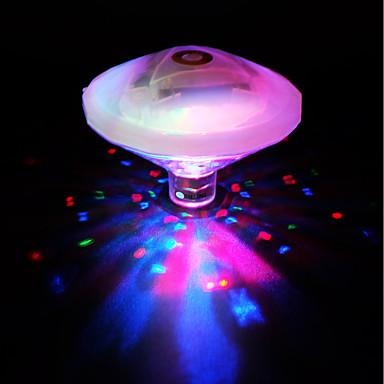 BRELONG® 1 W Vízalatti világítás Vízálló Több színű 4.5 V Gyerekszoba / Fürdőszoba / Lakberendezés 4 LED gyöngyök
