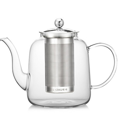 Indoor Drinkware, 1200 Tempered Glass Tea Water Water Pot & Kettle