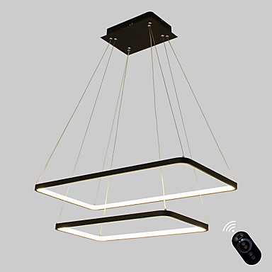 Ecolight™ Linear Pendant Light Ambient Light Painted Finishes Metal Acrylic Bulb Included, Adjustable, Dimmable 110-120V / 220-240V Warm White / White Bulb Included / G9 / LED Integrated