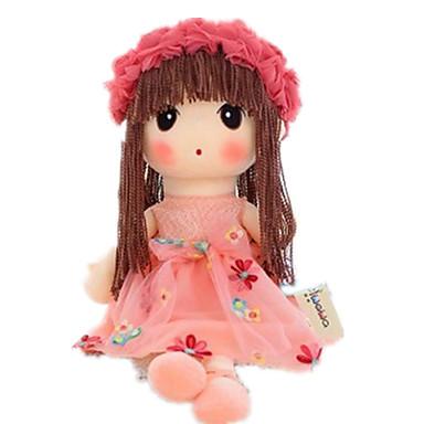 preiswerte Puppen-Plüschpuppe 14 Zoll Niedlich Kindersicherung Non Toxic Spaß lieblich Handaufgetragene Wimpern Kinder Mädchen Spielzeuge Geschenk