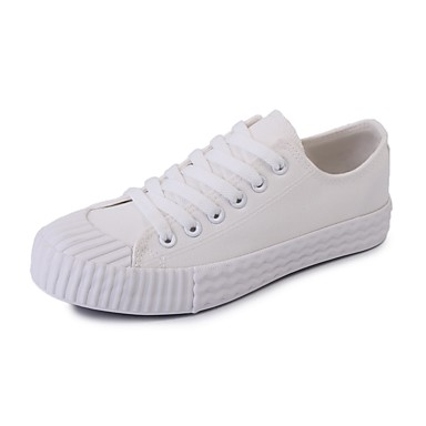 Herren Schuhe PU Frühjahr, Herbst, Winter, Sommer Komfort Leuchtende Sohlen Sneakers Für Normal Weiß Schwarz Grau Gelb