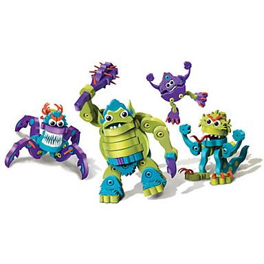 Klocki 4pcs Dinozaur DIY Szykowny Zabawki Prezent
