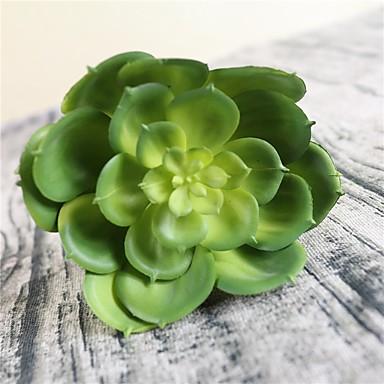 1 Gałąź Plastikowy Soczyste rośliny Bukiety na stół Sztuczne Kwiaty