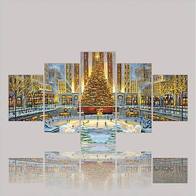 Walcowane wydruki na płótnie Comtemporary Klasyczny Rustykalny Nowoczesny, Pięć paneli Brezentowy Poziomy Wydrukować wall Decor Dekoracja