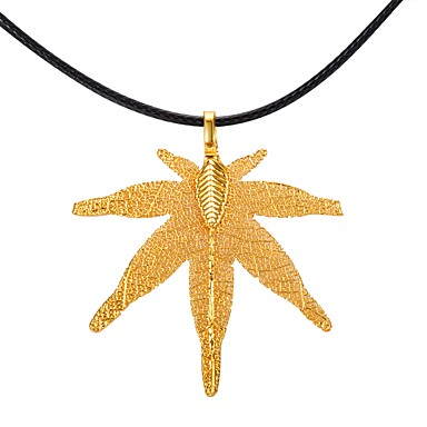 Damen Anhängerketten - Einfach, Freizeit Gold, Silber, Grau Modische Halsketten Für Geschenk, Verabredung