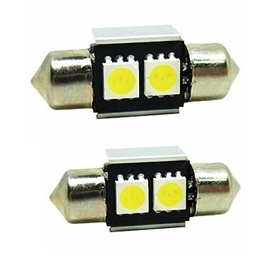 رخيصةأون مصابيح أضواء السيارة الداخلية-SENCART 2pcs هواوي التصاعدي P9 لمبات الضوء 0.5W SMD 5050 2 أضواء الداخلية / أضواء الخارج / سهل التركيب For المحركات العامة كل السنوات