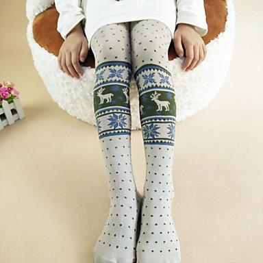 Dzieci Dla dziewczynek Aktywny Święto Bawełna Spodnie / Urocza