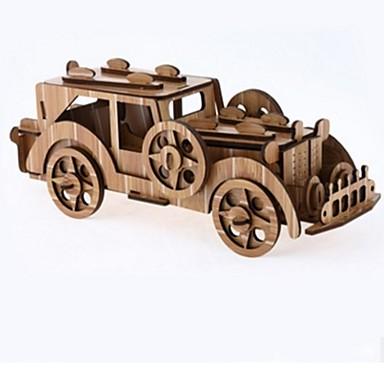 Zabawki 3D Puzzle Drewniane modele Dom 3D Klasyczny Moda New Design Dzieci Gorąca wyprzedaż 1pcs Vintage nowy Retro Modern / Contemporary