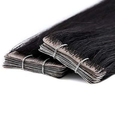 Tape In Ludzkich włosów rozszerzeniach Klasyczny Włosy naturalne Damskie Codzienny