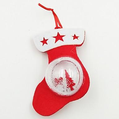 Dekoracje bożonarodzeniowe Artykuły na przyjęcie bożonarodzeniowe Ozdoby choinkowe Zabawki Owalne Święto Święto Sztuk