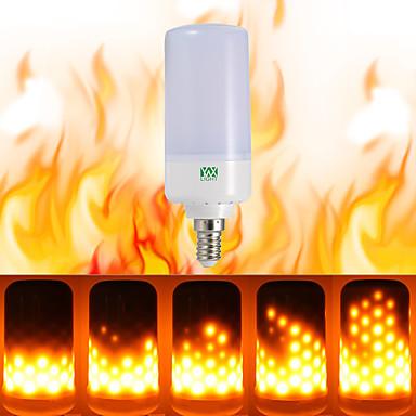 YWXLIGHT® 1szt 5W 400-500 lm Żarówki LED kulki 99 Diody lED SMD 3528 Dekoracyjna Ciepła biel AC 85-265V