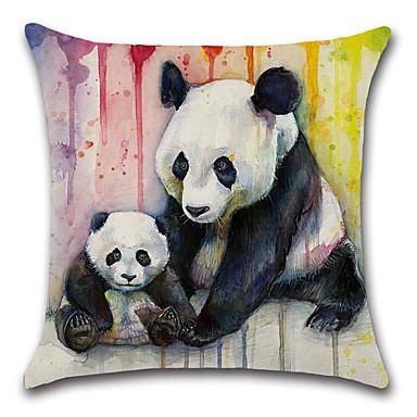 1 szt Cotton / Linen Pokrywa Pillow / Poszewka na poduszkę, Nowość / Zwierzę / Klasyczny קלאסי / Retro / Tradycyjny / Classic