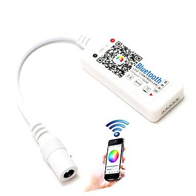 1 stücke led rgb controller max 192 watt mini bluetooth 4,0 rgbw für rgbw led-streifen drahtlose ios android app control dc12-24v