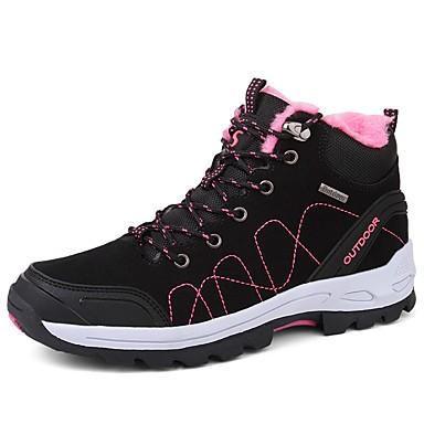 Talon Gris Bottes Femme Hiver Cachemire rond Chaussures clair Bottes Plat neige Violet Bout Noir 06413807 de R4q0Sx4