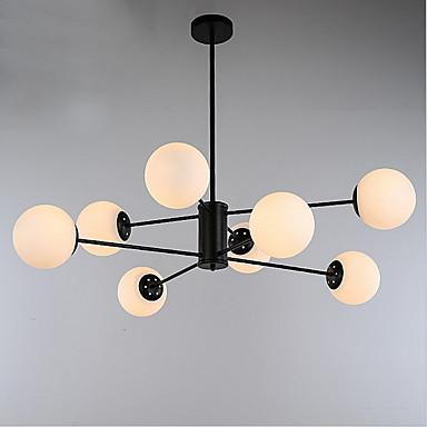 QINGMING® 8 świateł Żyrandol Światło rozproszone - Styl MIni, 110-120V / 220-240V Nie zawiera żarówek / 15/10 ㎡ / E26 / E27