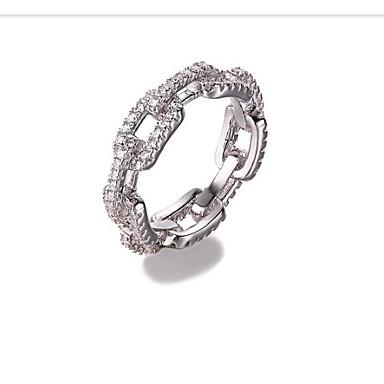 Damskie Band Ring - Stop Silver