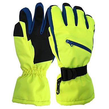 Rękawice narciarskie Damskie Full Finger Keep Warm Nylon Narciarstwo Piesze wycieczki Outdoor Exercise Kolarstwo / Rower Zima