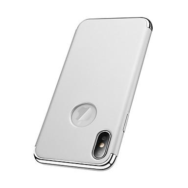 Pouzdro Uyumluluk Apple iPhone X iPhone 8 Kaplama Arka Kapak Tek Renk Sert PC için iPhone X iPhone 8 Plus iPhone 8 iPhone 7 Plus iPhone 7