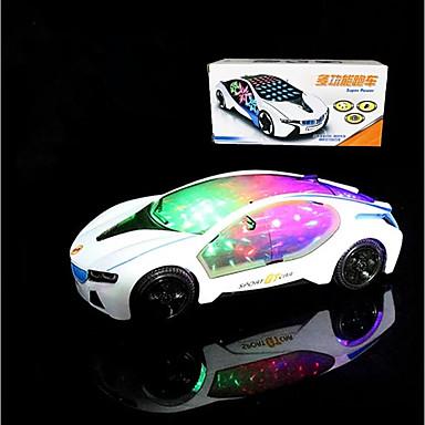 Oświetlenie LED Wyścigówka Zabawki Inne Święto Klasyczny styl Pojazdy Urodziny Oświetlenie Zmotoryzowany Elektryczny New Design Sztuk