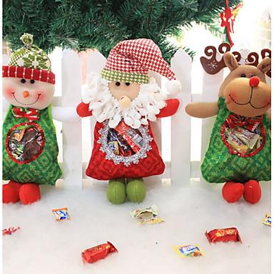 3szt Święta Bożego Narodzenia Ozdoby świąteczne, Dekoracje świąteczne 0.35