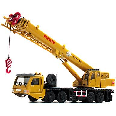 Dźwig Pojazdy budowlane i ciężarówki do zabawy / Samochodziki do zabawy / Zabawka edukacyjna 1:50 Obrotową głowicę / Klasyczna Miękkiego tworzywa 1 pcs Dla dzieci / Dla dorosłych Zabawki Prezent