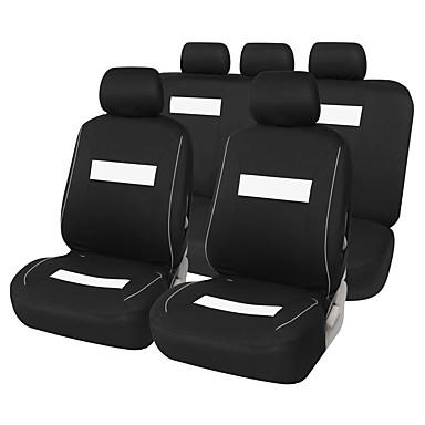 AUTOYOUTH Pokrowce na fotele Pokrowce na siedzenia Szary / Czerwony / Niebieski Poliester Zwykły Na Univerzál