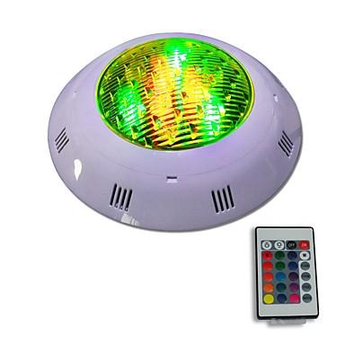 abordables Éclairage Extérieur-jiawen 12w ip68 imperméable à l'eau rgb a mené l'éclairage extérieur contrôlé à distance CA 12 - 24v de lumière de piscine